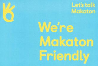 We're Makaton Friendly