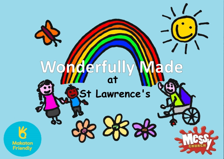 Wonderfully Made Logo St Lawrence Makaton Friendly